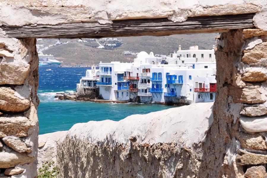 EchtIerland: 15-daagse reis Athene - Mykonos - Paros - Naxos - Santorini